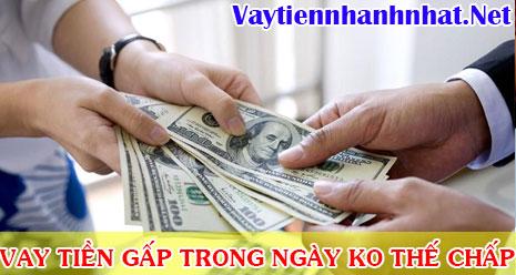 Cần vay tiền gấp trong ngày không thế chấp tại TPHCM
